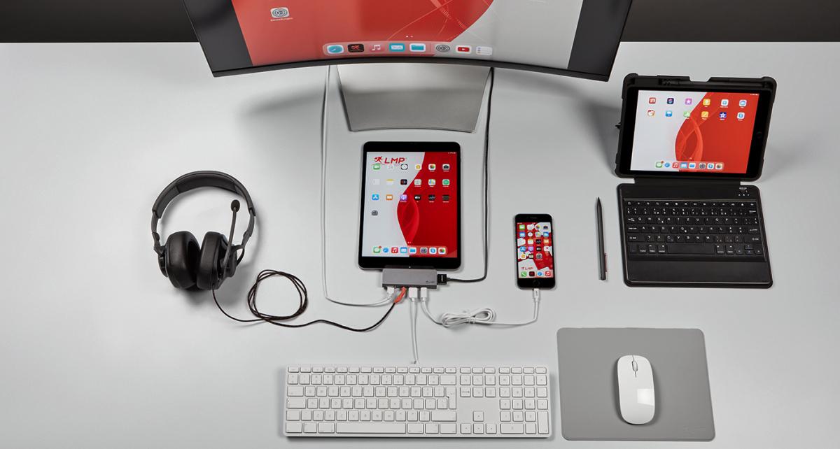 Novedades LMP: MiniStore para ampliar capacidad iMac Mini y Dock 5 puertos para nuevos ipads Pro M1 de Apple